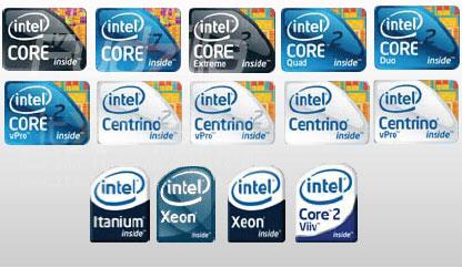intel logos Neue Intel Logos, CCleaner 2.17, Reaktionstest Spiel