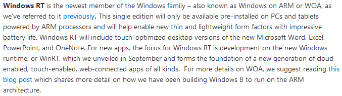 window 8 rt snippet