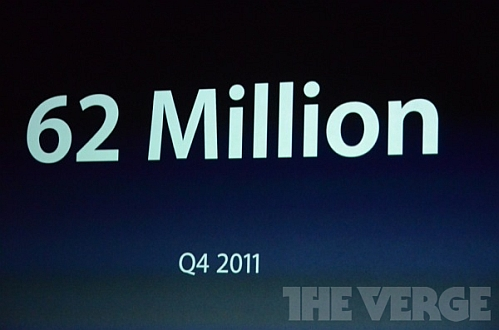 apple ios 62 million q4 2011