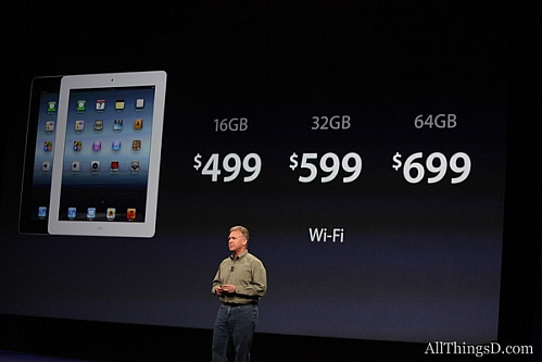 third-gen ipad price points