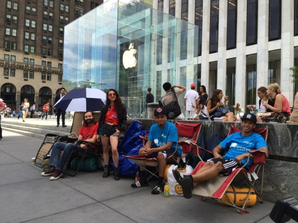 iphone 6 campers NYC