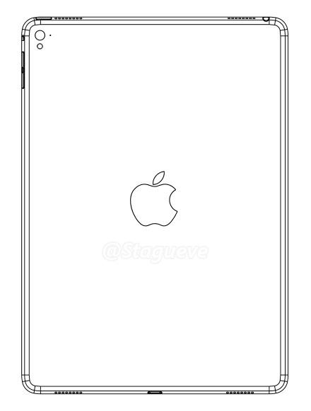 NoWhereElse.fr - Apple iPad Air 3 Prototype Sketch-Up (January 2016)