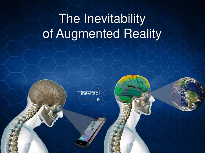 the inevitability of augmented reality slide