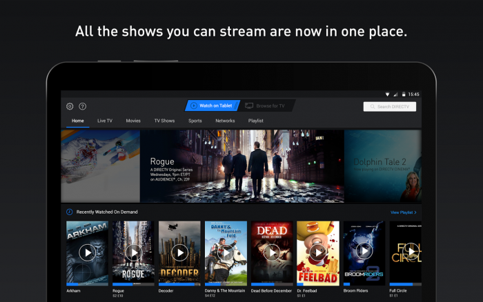 directv streaming app