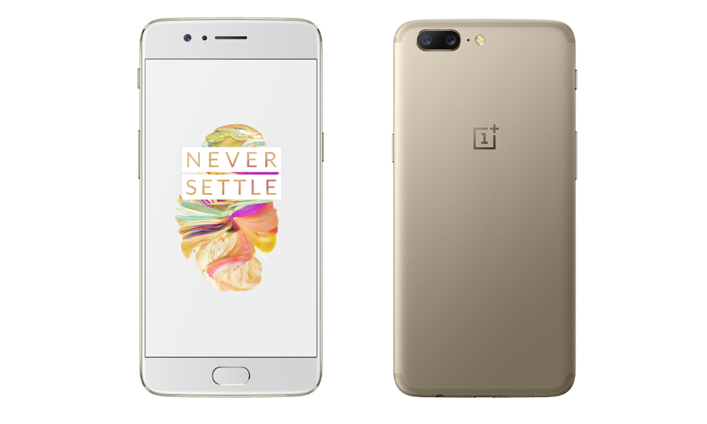 oneplus 5softgold 1
