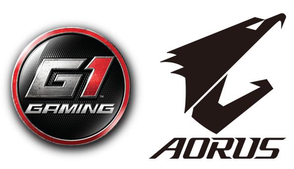 gigabyte g1 gaming aorus logos