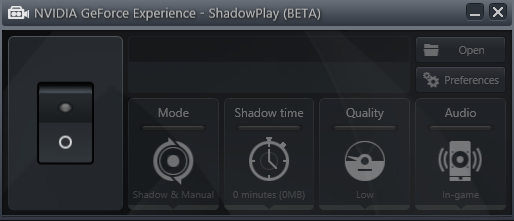 shadowplay off