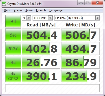 OCZ vector crystalmark