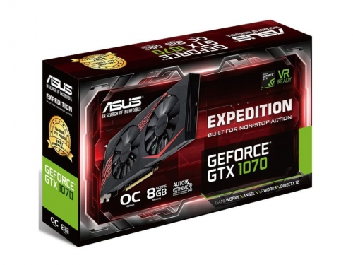 Asus unveils new GTX 1070 Expedition graphics card