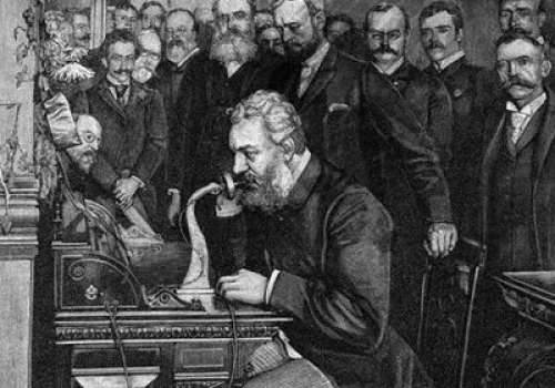 Alexander Graham Bell was American, insists Trump