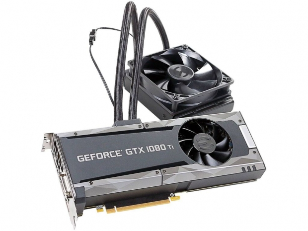 EVGA GTX 1080 Ti Hybrid FTW3 coming on July 10th