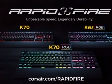 Corsair unveils three new Rapidfire keyboards