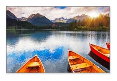 Broadcast monitor for those who have won the lottery