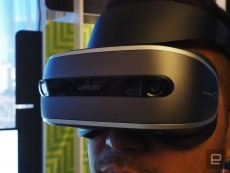 Lenovo unveils its own VR headset at CES 2017