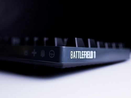 Logitech teases new G-series Battlefield Edition keyboard