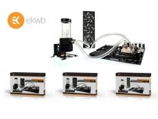 EK Water Blocks launch its new P-series liquid cooling kits
