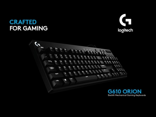 Logitech announces new G610 Orion mechanical gaming keyboard