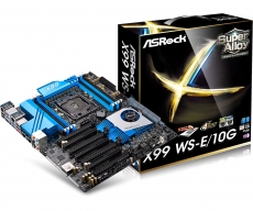 ASRock shows off new X99 WS-E/10G motherboard