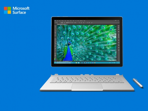 Microsoft's new Surface Book out