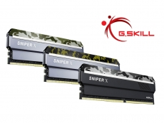 G.Skill announces new Sniper X DDR4 memory series