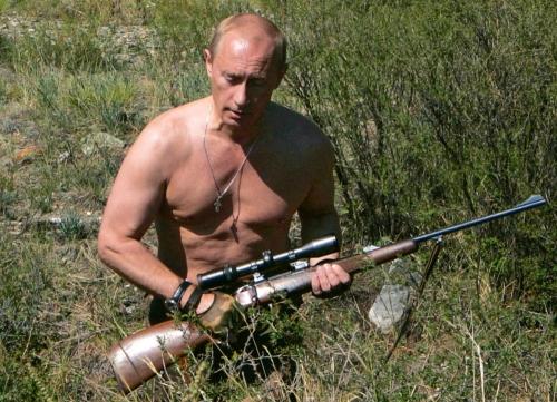 Tsar Putin protects Zeus