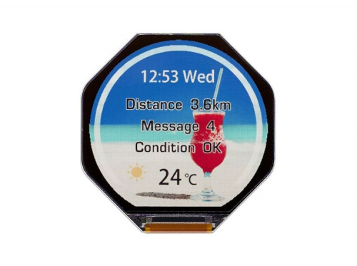 Japan Display announces reflective smarwatch display
