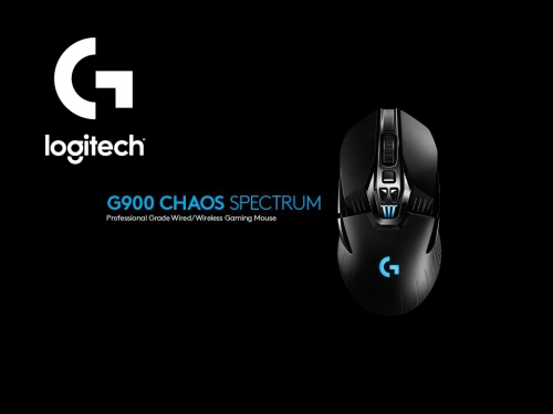 Logitech unveils the new G900 Chaos Spectrum gaming mouse