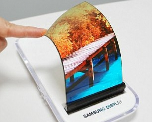 Samsung shows off stretchable display