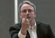 "Torvalds admits he is not a ""people person"""