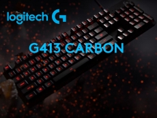 Logitech announces G413 gaming keyboard