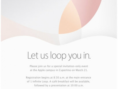 Apple announces event on March 21