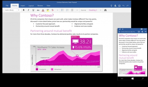 Office preview comes to Windows 10