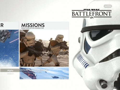 Star Wars Battlefront gets first PC gameplay footage