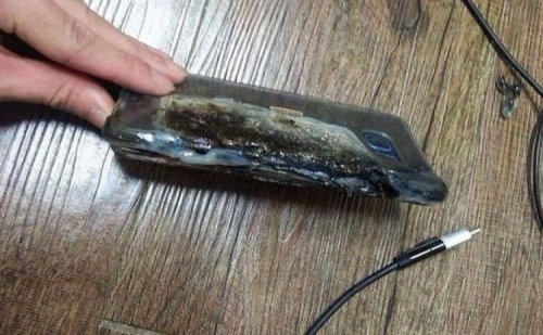 Some high-profile exploding Note 7 cases are bogus