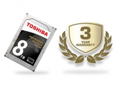 Toshiba releases 3.5-inch N300 NAS hard drives