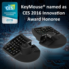 Keymouse named CES 2016 Innovation Awards Honoree