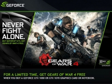 Nvidia bundles Gears of War 4 with GTX 1070/1080