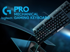 Logitech shows off a keyboard. Quel surprise...