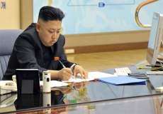 Kim Jong-un signs up country to Apple cult