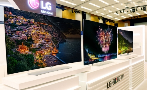 LG Launches More OLED HDR TV Stunners