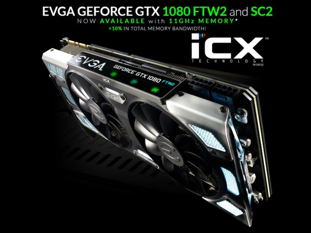 EVGA launches GTX 1080 FTW2/SC2 - and there's a surprise