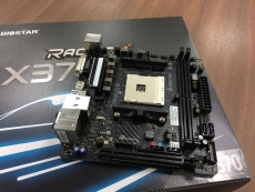 Biostar shows first mini-ITX X370 AM4 mobo