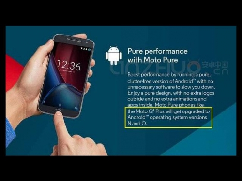 Moto G4 Plus to get Android O