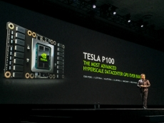 Nvidia's P100 pictured