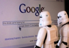 Softbank finds two droids they are looking for on Google
