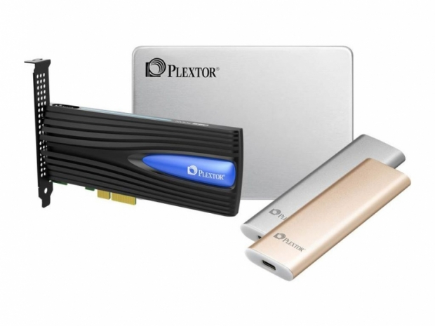 Plextor shows plenty of SSDs at CES 2017 show