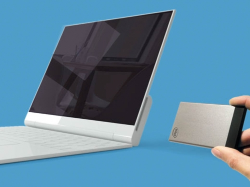 NexDock transforms Intel Compute Card into 14-inch notebook