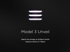 Tesla Model 3 unveil happens today at 8:30pm PDT