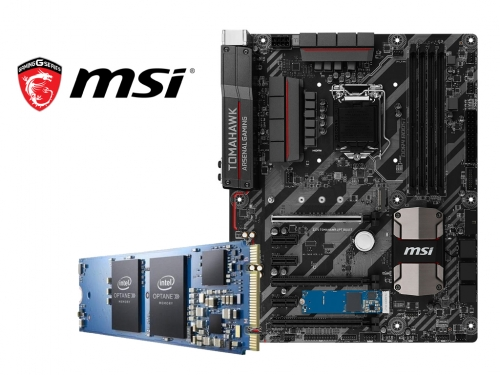 MSI bundles Intel Optane Memory with some motherboards