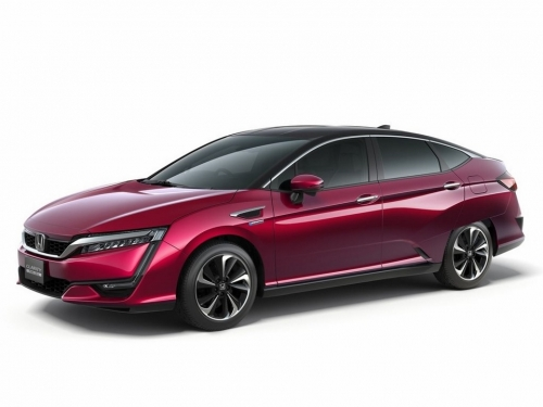 Honda's new hydrogen fuel cell sedan arriving later this year